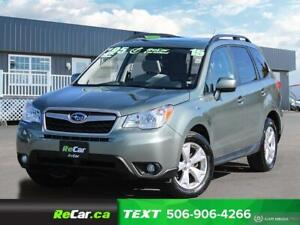 2015 Subaru Forester 2.5i Touring Package BACK UP CAM | SUNRO...
