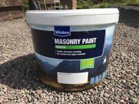 White Smooth Masonry Paint