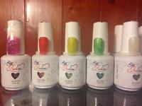 Gel nail polishes £3 each new