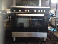 kenwood 5 ring gas cooker