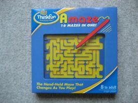 Thinkfun Amaze - 16 mazes in one