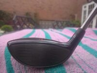 Cobra King Ltd 3 – 4 Fairway Wood with upgraded expensive UST Elements Chrome 7F3 Shaft