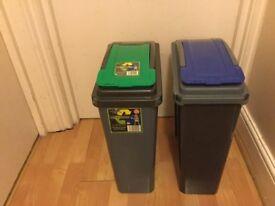 Two bins
