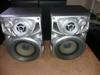 Pioneer speakers x2