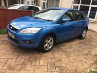 Ford focus Ztec 2010 (60) CAT S full years MOT 78,278 mileage