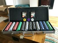 Texas Hold 'Em Poker Cards and Chips