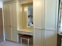 Fitted Wardrobes and Bedside Cabinet