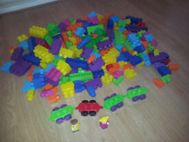 Mega Bloks - Huge bag full