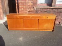 Retro Solid Teak Sideboard