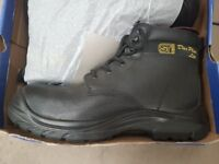 Heavy Duty Work Safety Boots Size 10 Builder Shoes