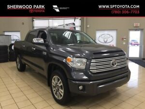 2016 Toyota Tundra Platinum with Toyota Warranty Extended 200,00