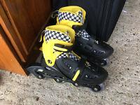 Zinc Inline Roller Skates 13-3