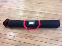 FREE - SQUARE BASE ZIP UP BAG - roller banner/pop up bags