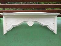 Wooden cornice over a door/window - antique / shabby chic - used, good condition