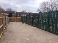 SELF STORAGE IN HOCKLEY B18 - 20ft Shipping Containers for Hire - £30 per week