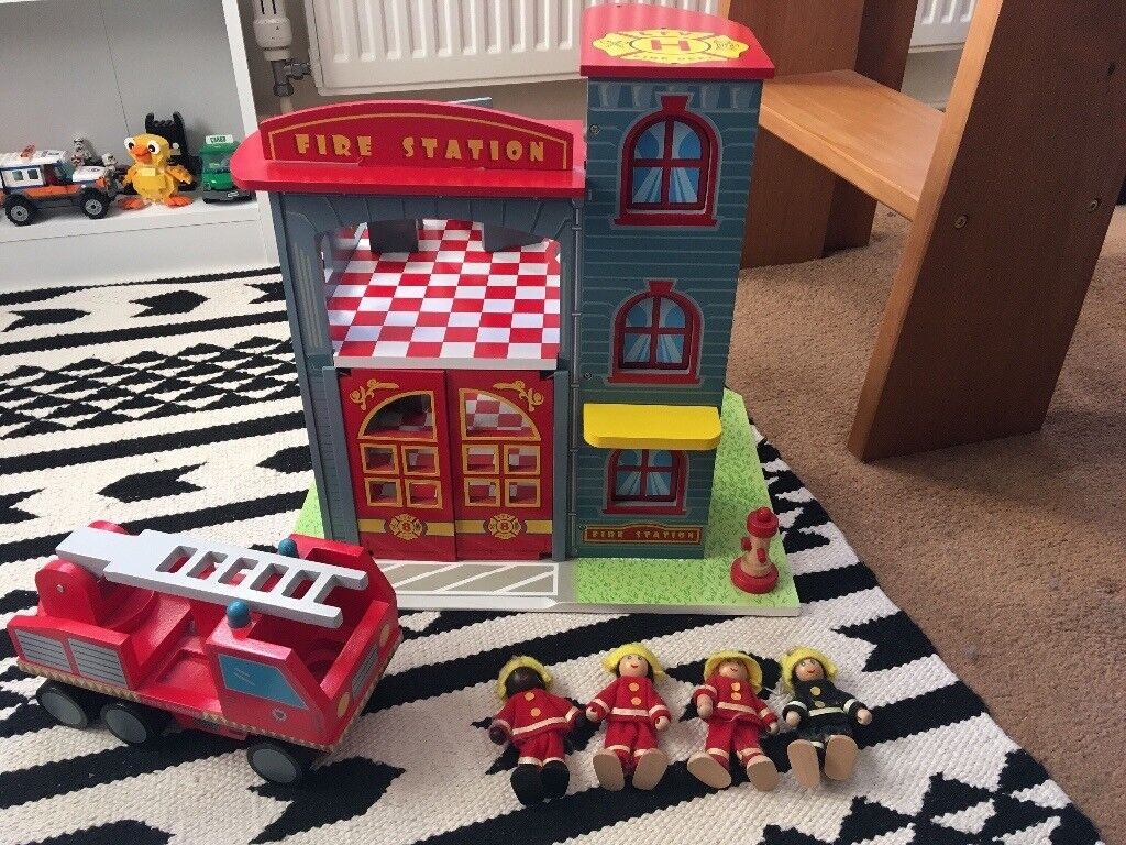 Le Toy Van Wooden Fire Station Accessories In North Walsham Norfolk Gumtree