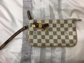 Fashionable Pouch faux leather