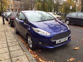 Ford Fiesta Zetec 3dr, 1.25 82PS, petrol, reg Jan 2014, fully serviced, low mileage, NEGOTIABLE!!