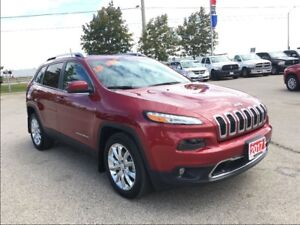 2017 Jeep Cherokee *LIMITED*SAFETY TEC*NAVIGATION* ONLY 797 KMS*
