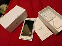 *MINT Apple iPhone 6 silver 64gb, UNLOCKED boxed charger fully working