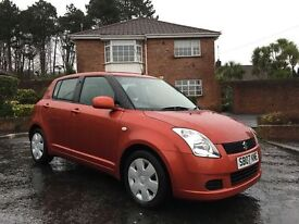 2007 SUZUKI SWIFT 1.3 GL ** ONLY 35,000 MILES ** FINANCE AVAILABLE ** ALL CARDS ACCEPTED