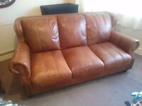 Toffe color leather sofa £50