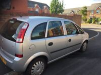 Vauxhall Meriva 2005 12 months MOT with full service history