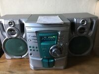 Stereo system and pine unit
