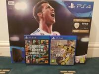 Brand New Unopened 500GB PS4 Slim For Sale With GTA