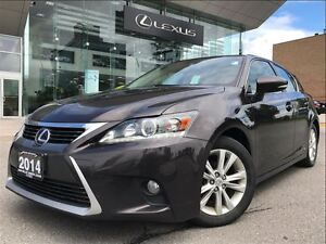 2014 Lexus CT 200h Leather Bluetooth