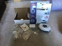Nuby natural touch digital breast pump boxed electric