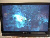 """Panasonoic 42"""" Plasma TV HDMI c/w Heavy Duty Wall Bracket"""