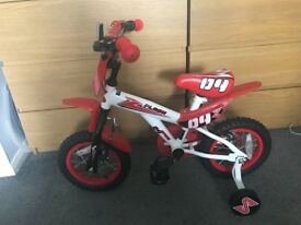 Toddler 12 inch bmx style bike