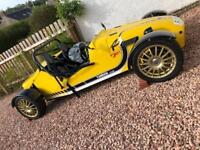 Yamaha R 1 road legal kit car