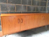 G Plan Teak TV Cabinet Sideboard on Hairpin Legs Nationwide Delivery Available
