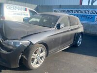 BMW 1 SERIES 118D M SPORT N47D20c ENGINE, GA8HP45Z GEARBOX, 3.08 REAR DIFF BREAKING FOR PARTS