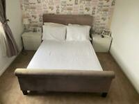 Next - Double Bed/Mattress and bedroom furniture