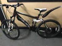 Carrera banshee X full Air Suspension mountain bike with accessories
