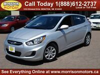 2014 Hyundai Accent GL Hatchback ($107 bi wkly tax inc. oac)