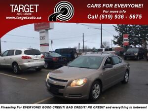 2008 Chevrolet Malibu LS, Low Kms, Drives Great Very Clean !!
