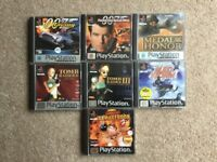 PlayStation 1 game selection