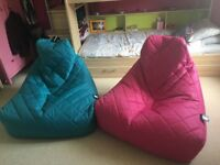 Good condition Bean Bag chairs for sale.