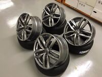 """19"""" AUDI STYLED ALLOYS WHEELS S3 Q5 SQ5 Q3 SQ3 RS3 RS4 RS5 RS6 RS7 R8 S LINE VW SEAT"""