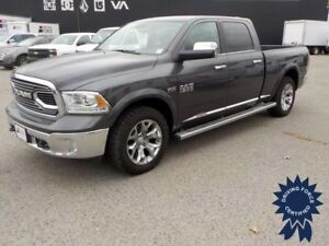 2016 Ram 1500 Limited, Backup Camera, Heated Leather Seats