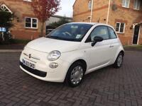 2014 FIAT 500 (START/STOP) 12 MONTH MOT ,SERVICE HISTORY, TAX £30, MILEAGE 25k, HPI CLEAR 1 OWNER