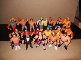 WWF Wrestling Figures - Vintage Hasbro wrestlers
