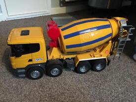 Bruder cement mixer large 1/16 scale