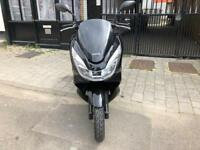 HONDA PCX 125cc Black 2015 new shape hpi clear