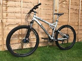 Specialized XC comp full suspension Enduro/Downhill bike, LIKE NEW, HIGH SPEC, FOX