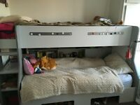 Scandinavian Bunk Bed with lots of storage
